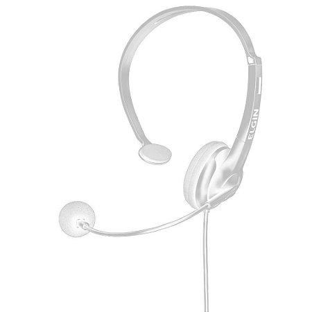 Fone Headset Mono Flexível sem Volume RJ-11, ELGIN F02-1NSRJ