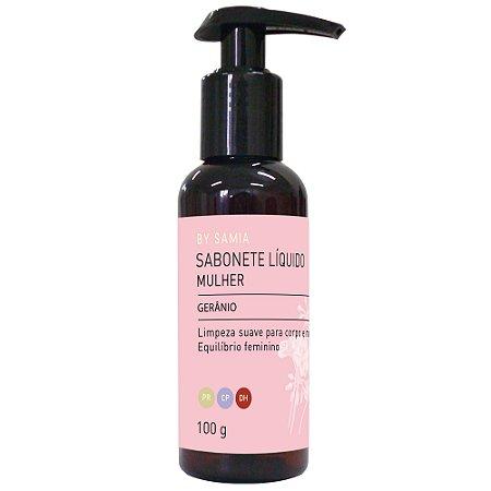 Sabonete Liquido Mulher Gerânio  -  100gr - By Samia