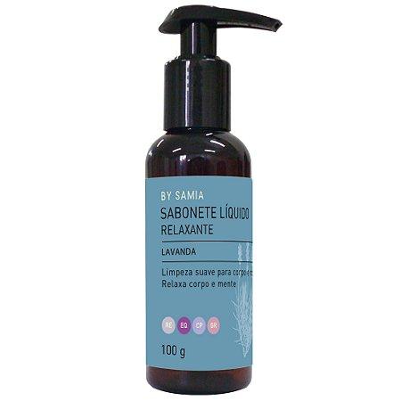 Sabonete Liquido Lavanda - Relaxante -100gr - By Samia