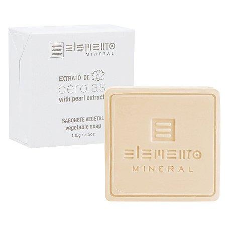 Sabonete Extrato de Pérolas   100g  -  Elemento Mineral