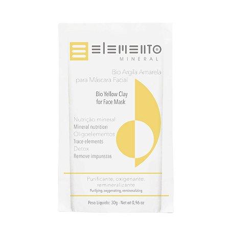 Bio Argila Amarela  30g  -  Elemento Mineral
