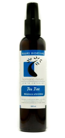 Água Bioativa / Hidrolato Orgânico de Tea Tree  200ml  -  Harmonia Natural