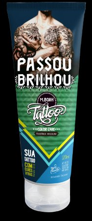 Tattoo Color Care Masculino  - 120ml  -  MBoah Tattoo - Black Friday