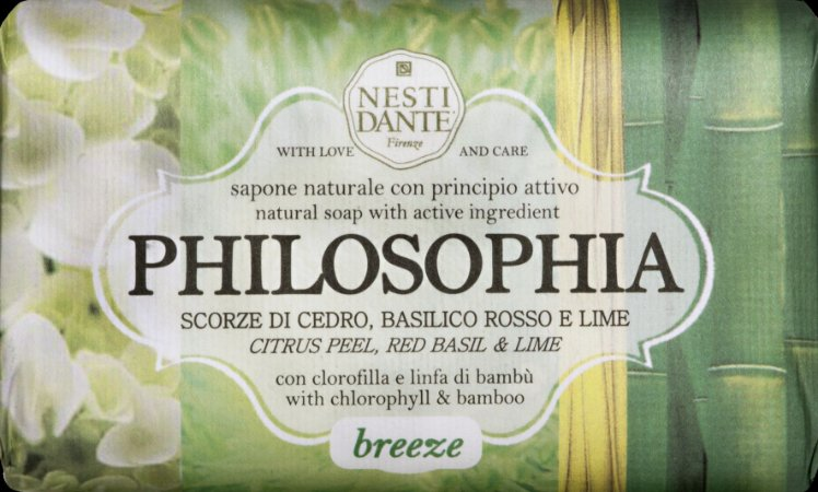 Sabonete Philosophia Breeze  -  Nesti Dante  -  250g