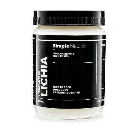 Hidratante Corporal Lichia  -  150ml  -  Simple Organic