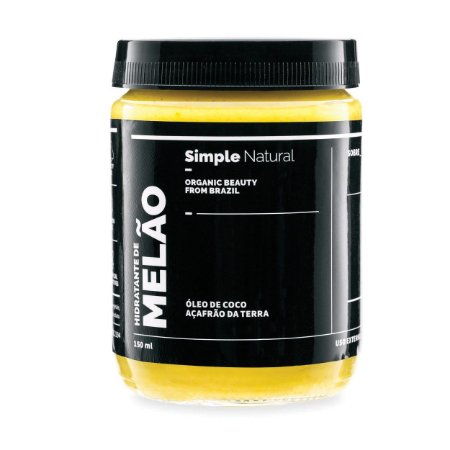 Hidratante Corporal  Melão  -  150ml  -  Simple Organic