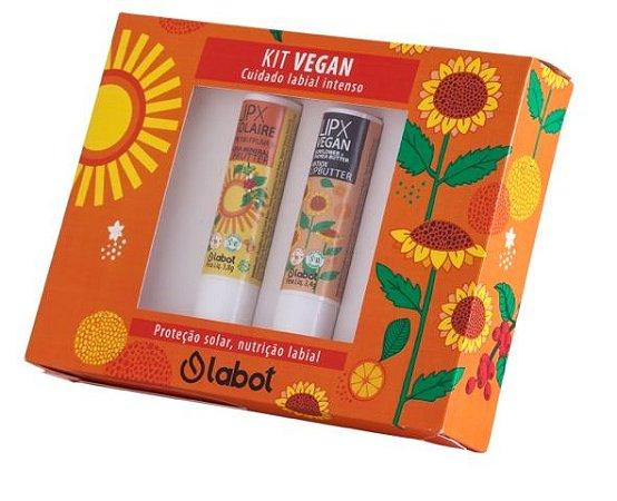 Kit Vegan LIPX Solaire e Lipbutter  -  Labot