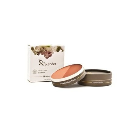 Duo de Blush Natural e Vegano  10g  -  Splendor