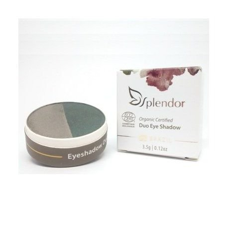 Duo de Sombras Natural e Vegano  Nature Fresh  3,5g  -  Splendor