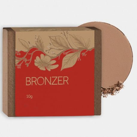 Bronzer Orgânico Natural e Vegano   10g  -  Cativa Natureza