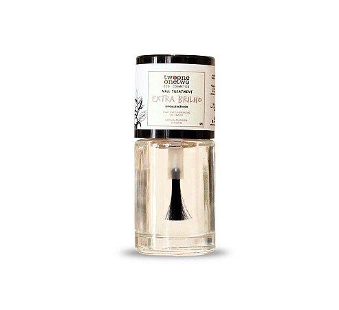 Esmalte Hipoalergênico Fortalecedor Argan Vegano  Top Coat  Extra Brilho     10ml  -  Twoone Onetwo