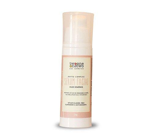 Sérum Facial Clareador e Antioxidante  Peles Sensíveis  30g  -  TwooneOnetwo