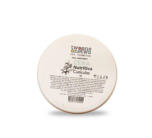 Cera Nutritiva Unhas e Cutículas  4g  -  TwooneOnetwo