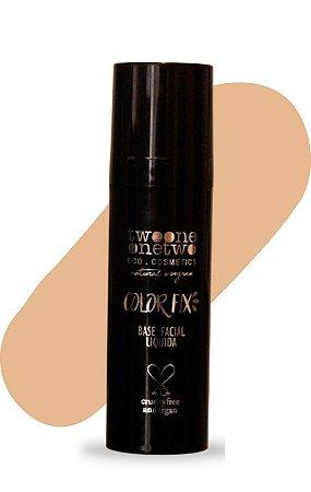 Base Facial Líquida Color Fix  Vegana e Natural   Cor 03  Média  Clara   -  30g   Twoone Onetwo