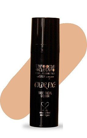 Base Facial Líquida Color Fix  Vegana e Natural   Cor 02  Clara  Média  -  30g   Twoone Onetwo