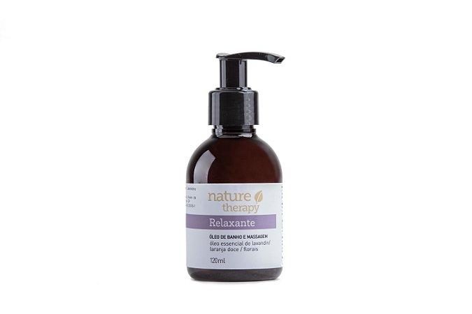 Óleo de Banho e Massagem Natural e Vegana Relaxante  120ml  -  Nature Therapy