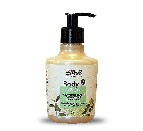 Hidratante de Banho com Enxágue Capim-Limão Natural e Vegano  250g  -  Twoone Onetwo