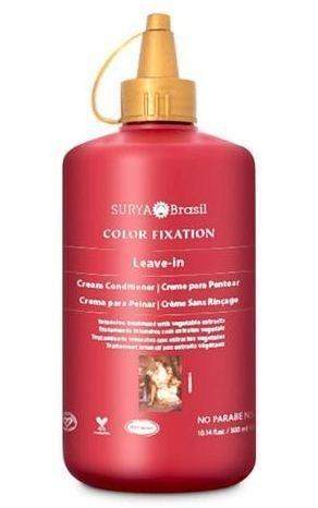 Creme para Pentear Leave-in Fixação da Cor - com Buriti, Cupuaçu e Babaçu 300ml - Surya Brasil