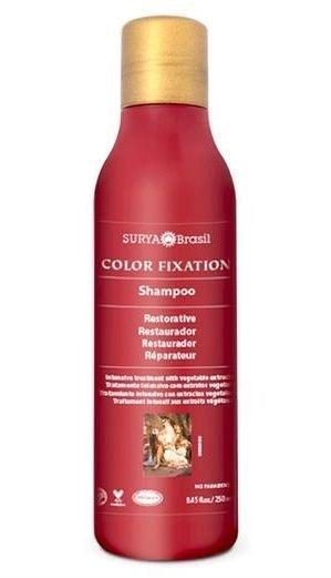 Shampoo Restaurador Fixação da Cor - com Buriti, Cupuaçu e Henna 250ml - Surya