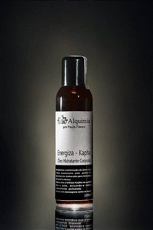 Energiza  Kapha -  Óleo Corporal Hidratante -120ml- massagem e banho - Alquimia por Paula Franco