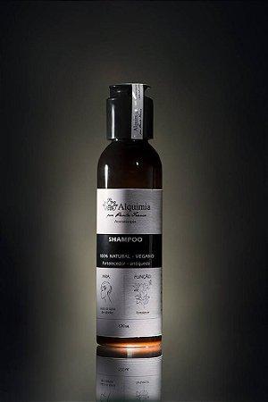 Shampoo 100% natural – Fortalecedor - Antiqueda - Vegano -120ml- Alquimia por Paula Franco