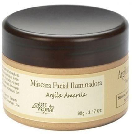 Máscara Facial Iluminadora com Argila Amarela 90g - Arte dos Aromas
