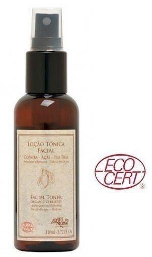 Loção Tônica Facial Orgânica Copaíba com Açaí e Tea Tree - Antioxidante 110ml - Arte dos Aromas