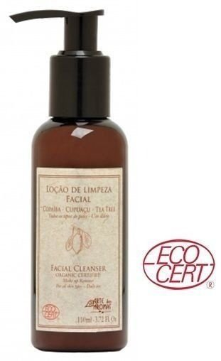 Loção de Limpeza Facial Orgânica Copaíba com Cupuaçu, Tea Tree e Babosa 110ml - Arte dos Aromas