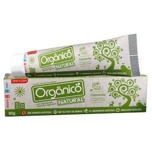 Pasta de Dente Orgânica e Natural - 80g  -  Contente