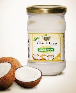Óleo Vegetal Coco Extra Virgem Organico - Pote- 500ml - Finococo