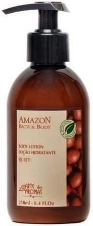 Loção Hidratante Buriti Nutritiva com Manteiga de Cupuaçu 220ml - Arte dos Aromas