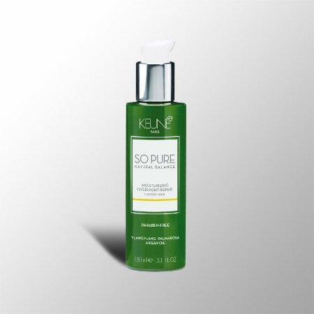 Moisturizing Overnight Repair Cabelos Secos Leave-in Noturno 150ml - Keune so Pure
