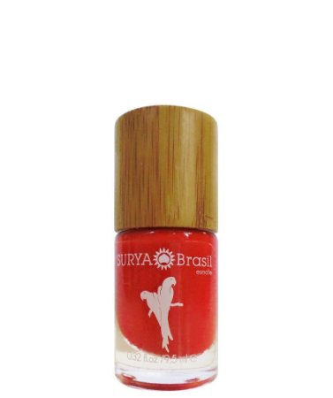 Esmalte Arara Vermelha Exotic Animals 9,5ml - Surya