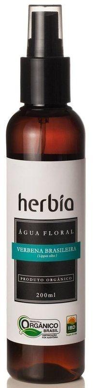 Água Floral Orgânica de Verbena Brasileira 200ml - Herbia