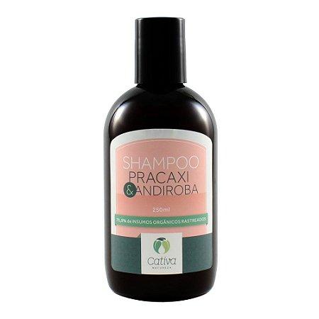 Shampoo Pracaxi & Andiroba 250ml - Cativa Natureza
