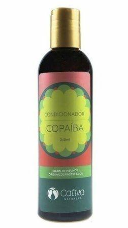 Condicionador de Copaíba com Pracaxi e Andiroba - Cabelos Oleosos e Anti-Caspa 240ml - Cativa Natureza