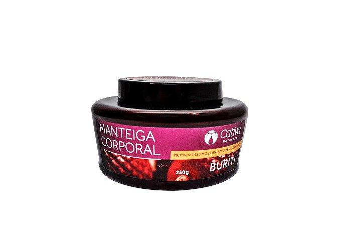 Manteiga Corporal Buriti 250g - Cativa Natureza