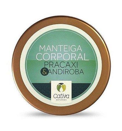 Manteiga Corporal Pracaxi e Andiroba 250g - Cativa Natureza