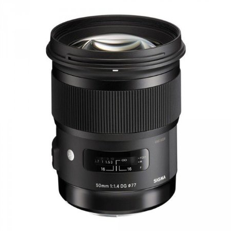 LENTE SIGMA 50mm F/1.4 DG HSM ART PARA NIKON