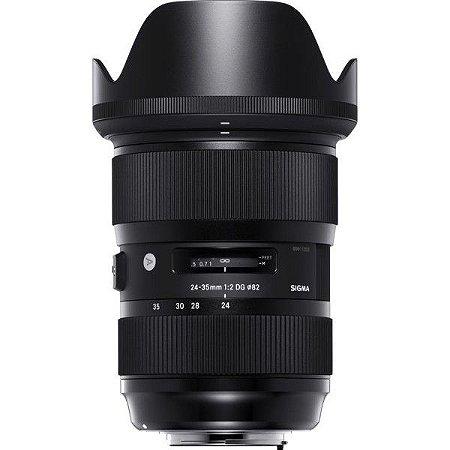 LENTE SIGMA 24-35mm F/2 DG HSM ART PARA NIKON