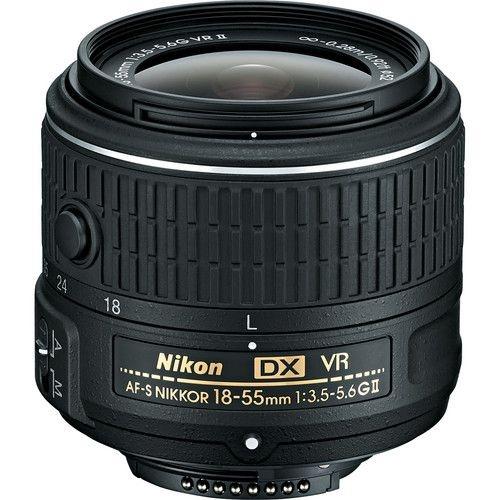 LENTE NIKON AF-S DX NIKKOR 18-55mm f/3.5-5.6G VR II