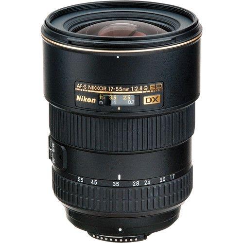 LENTE NIKON AF-S DX Zoom-NIKKOR 17-55mm f/2.8G IF-ED
