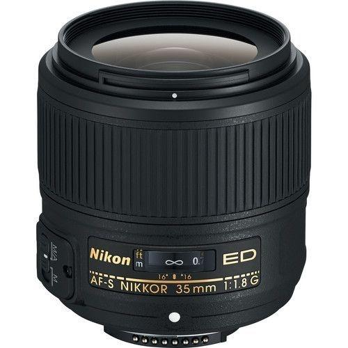 LENTE NIKON AF-S NIKKOR 35mm f/1.8G ED