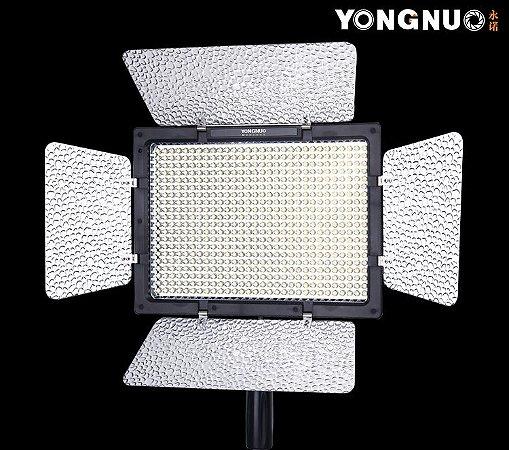 ILUMINADOR LED YONGNUO YN-600II +  FONTE