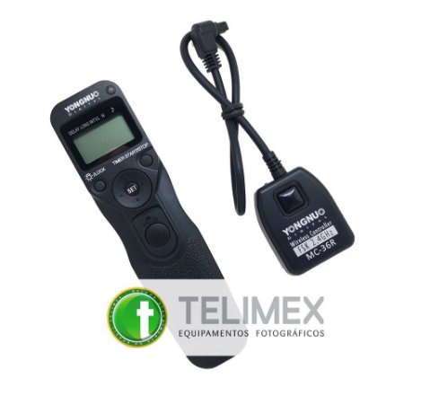 CONTROLE SEM FIO YONGNUO MC-36R - N3 (PARA NIKON D3200, D5300, D7200, D610 E MAIS)