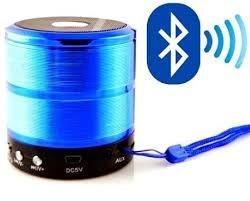 Caixa de som bluetooth usb cartão fm WS-887