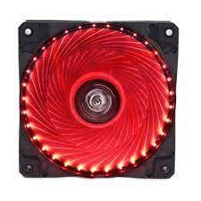 Cooler Fan Hoopson Gamer Cl-033V Vermelho 33 Leds 12 Cm 12V