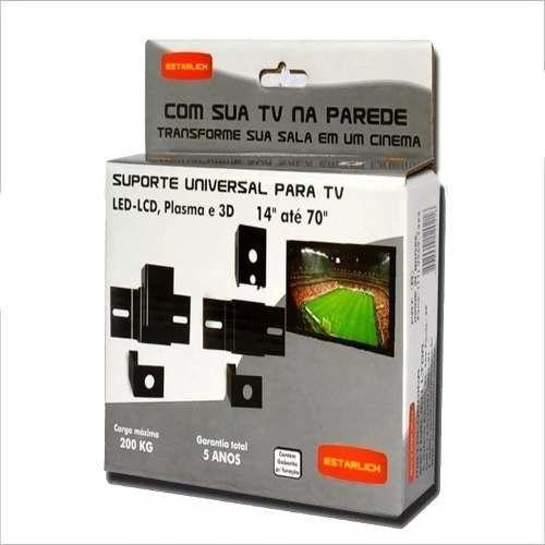 """Suporte  universal para tv LED-LCD, PLASMA E 3D DE 10"""" ATE 100"""""""