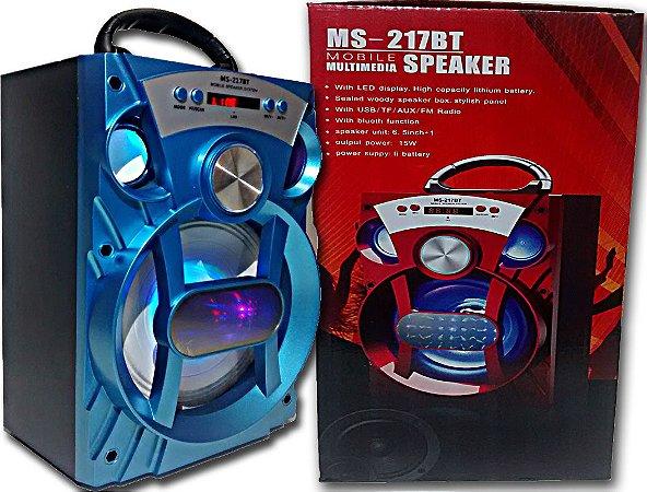 Caixa De Som MS-217BT Bluetooth /sd/usb
