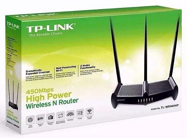 Roteador Wireless Tl Wr 941hp 1000mw Antena 8dbi